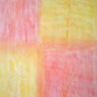 Pastellmalerei: »Mosaik«, Oktober 2009 | © mh