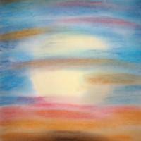 Pastellmalerei: »Hoffnung«, Dezember 2009 | © mh