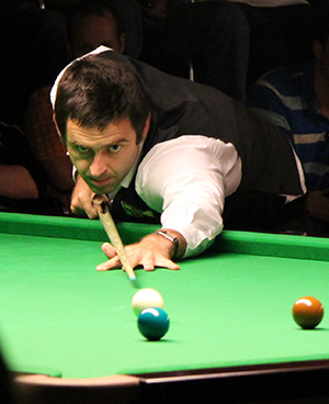 Ronnie O'Sullivan beim Paul Hunter Classic 2011, Fürth