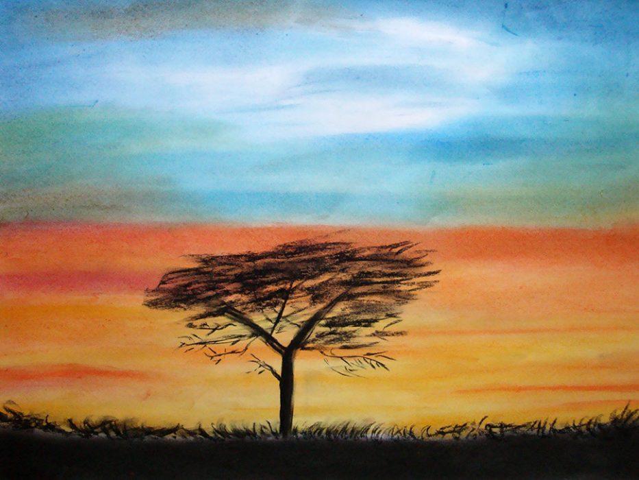 © Markus Hüfner, April 2011 | »African Blue« | zum Vergrößern auf das Bild klicken