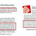 Beitrag depression-heute.de »Opium für das Volk. Die Apotheken Umschau erklärt Depressionen«
