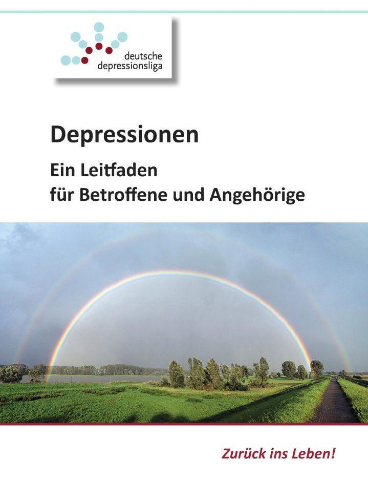 Broschüre Depressionen: Ein Leitfaden für Betroffene und Angehörige