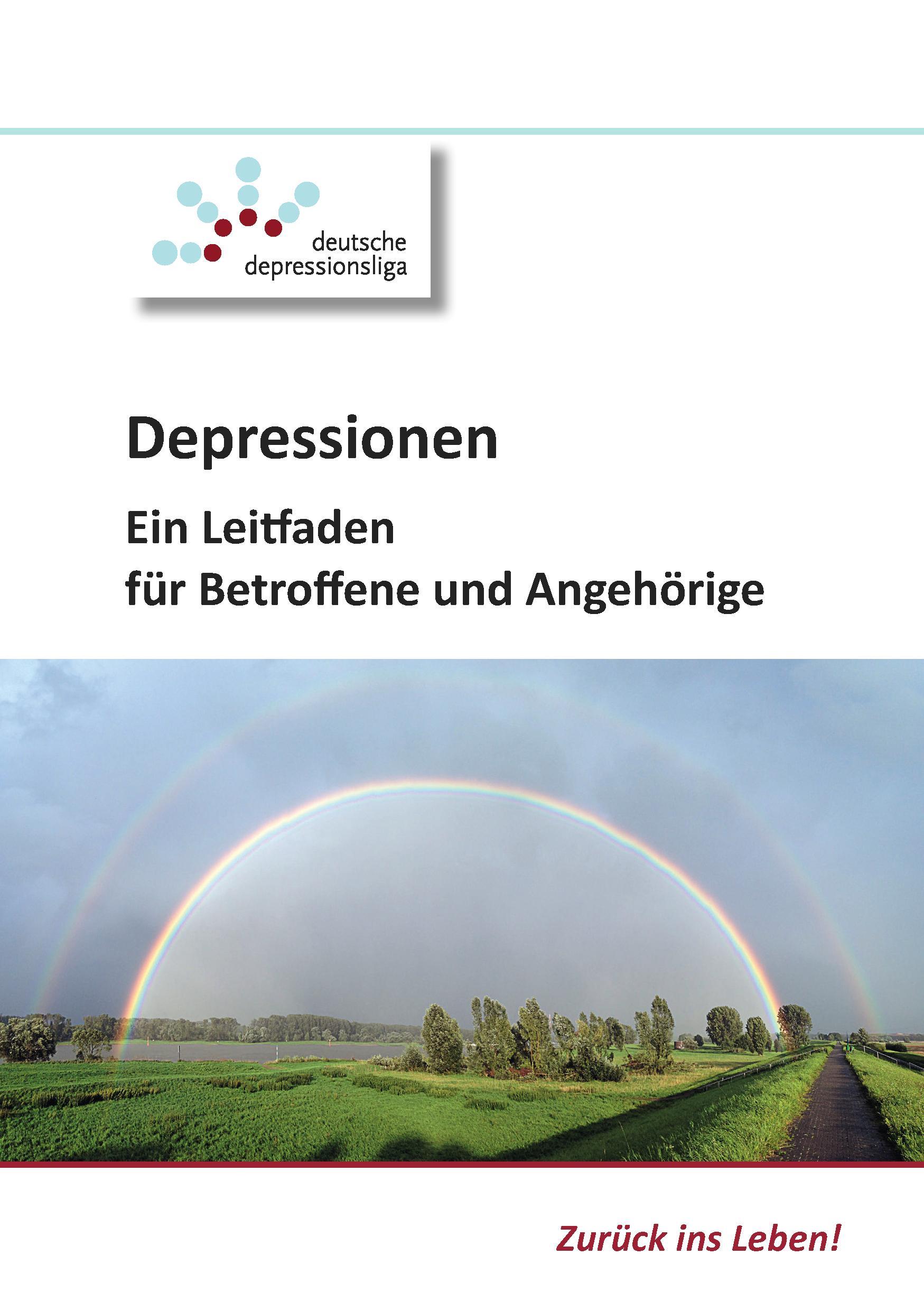 Broschüre der Deutsche DepressionsLiga e.V.