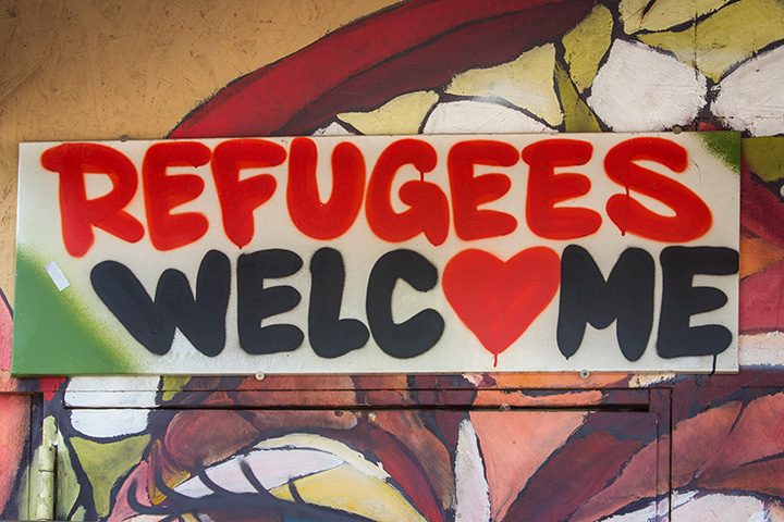 Plakat Refugees Welcome