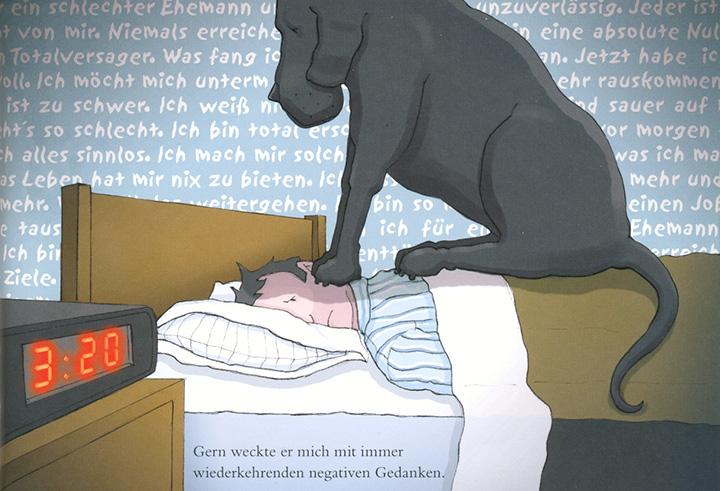 Matthew Johnstone, »Mein schwarzer Hund. Wie ich meine Depression an die Leine legte.«