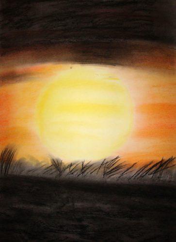 © Markus Hüfner, Dezember 2009 | »Sundown« | zum Vergrößern auf das Bild klicken